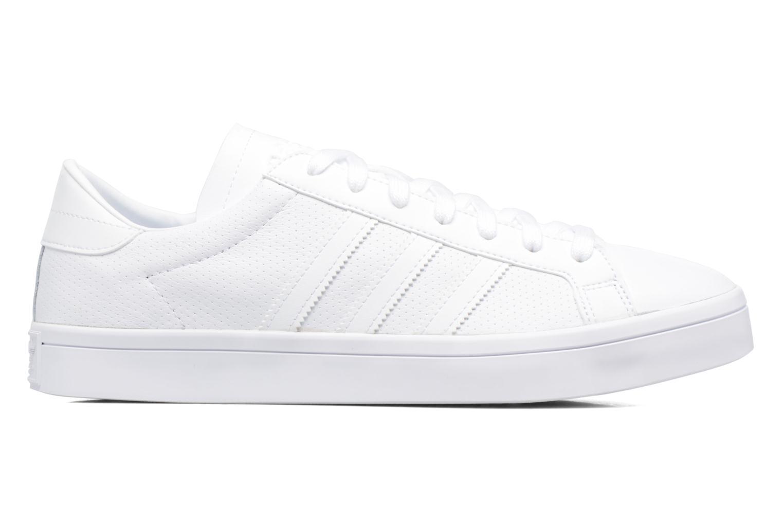 Baskets Adidas Originals Court Vantage H Blanc vue derrière