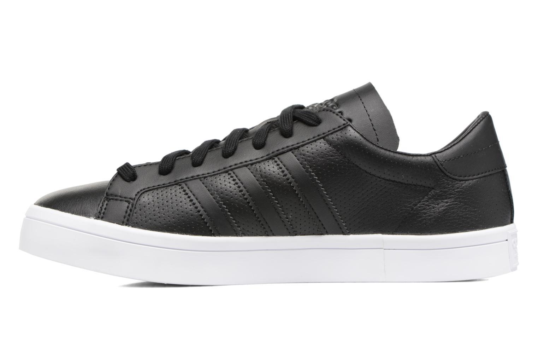 Sneakers Adidas Originals Court Vantage H Nero immagine frontale