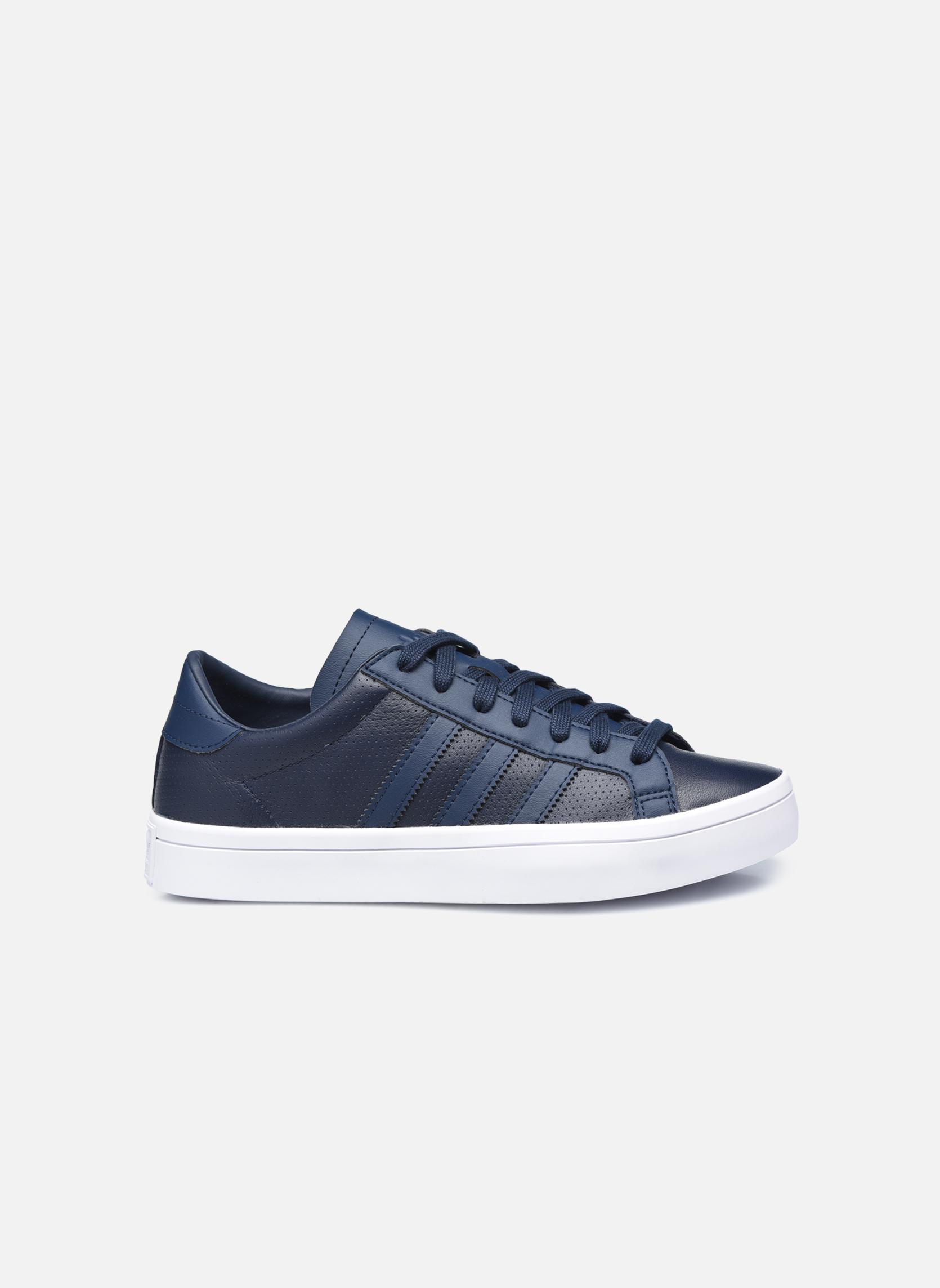 Baskets Adidas Originals Court Vantage H Bleu vue derrière