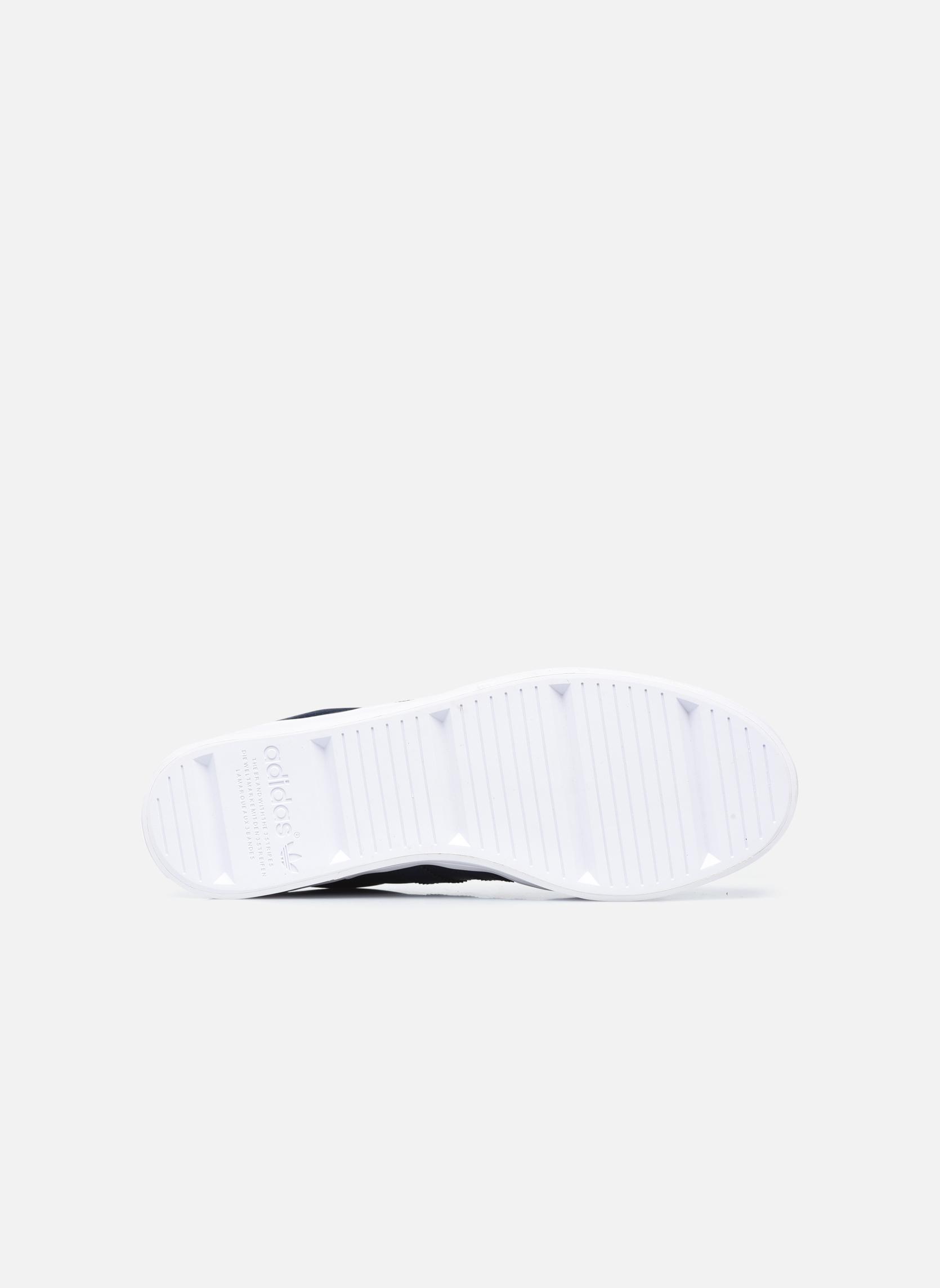 Baskets Adidas Originals Court Vantage H Bleu vue haut