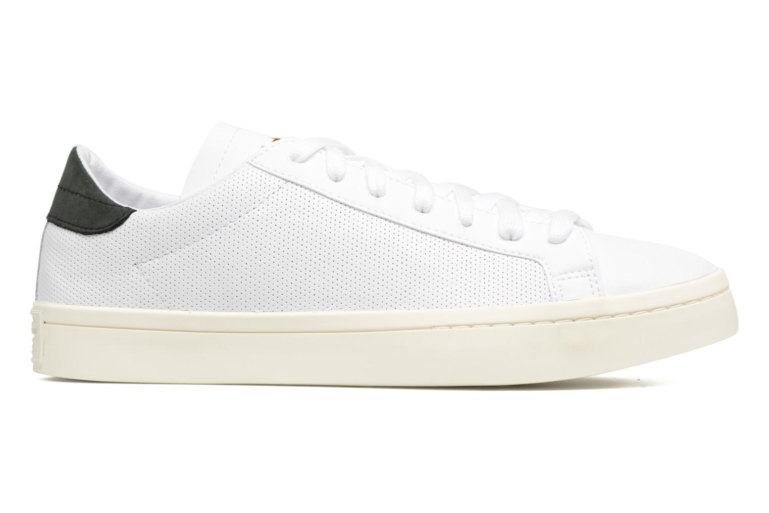 Trainers Adidas Originals Court Vantage H White back view