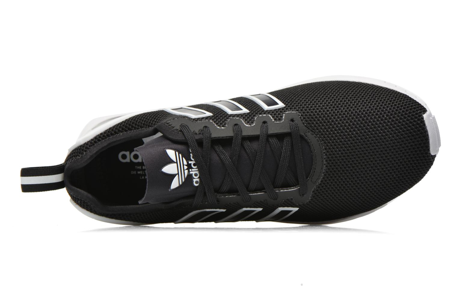 Trainers Adidas Originals Zx Flux Adv Black view from the left