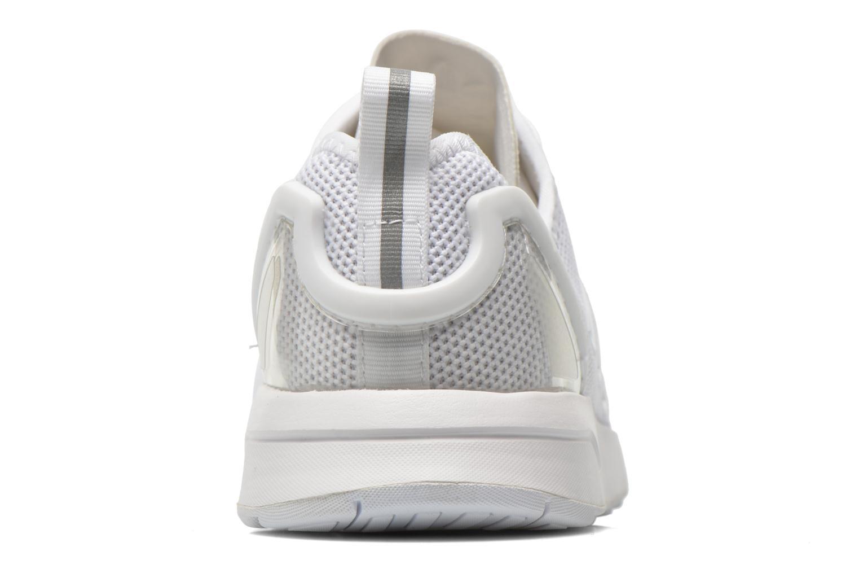 Baskets Adidas Originals Zx Flux Adv Blanc vue droite