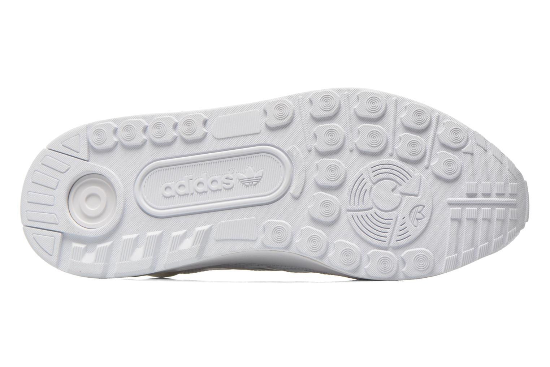 Baskets Adidas Originals Zx Flux Adv Blanc vue haut