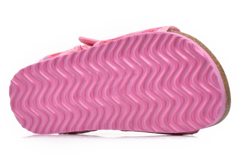 Sandales et nu-pieds Peppa Pig Fedoul Rose vue haut
