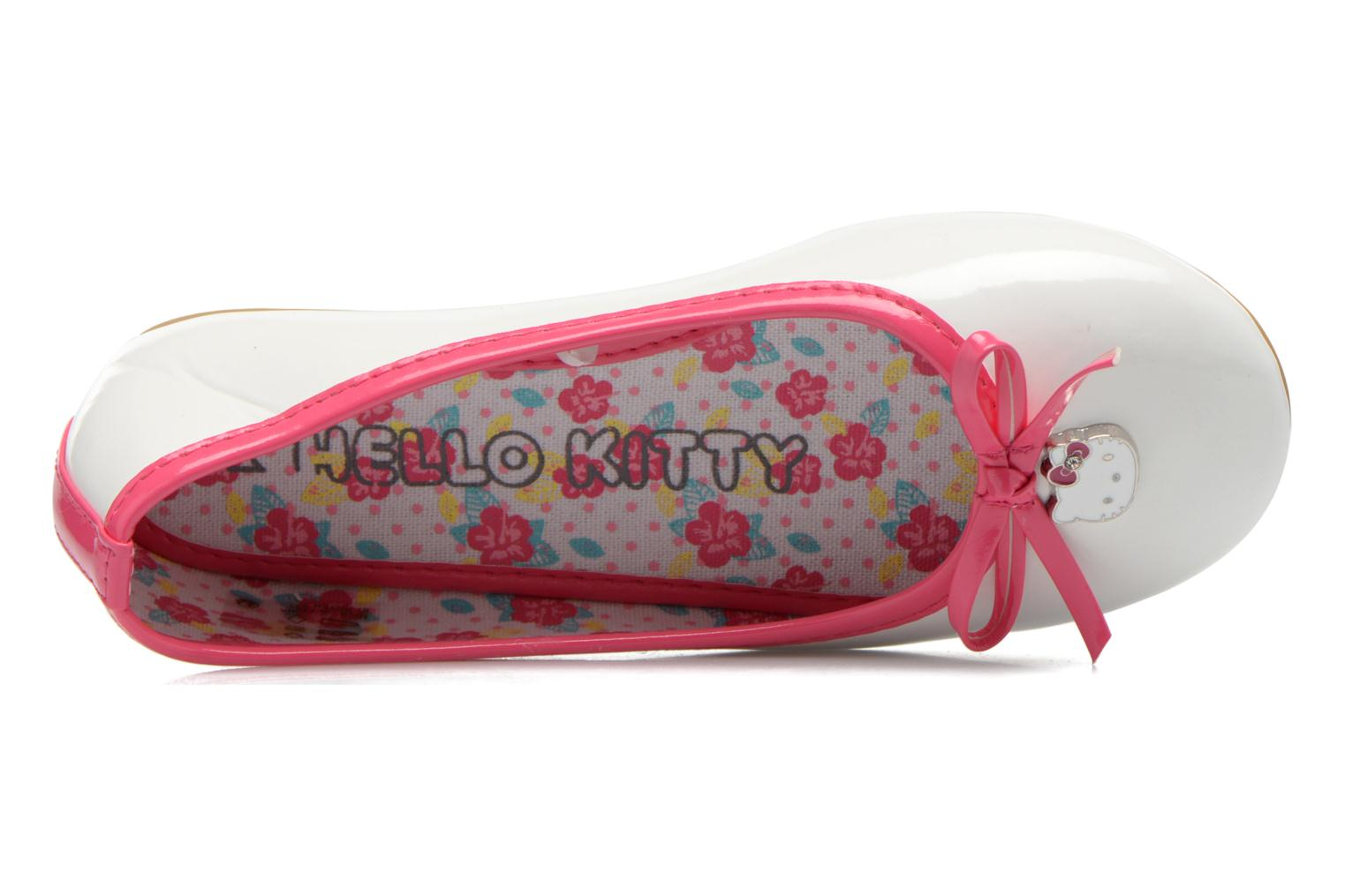 Ballet pumps Hello Kitty Hk Veale Ss El White view from the left
