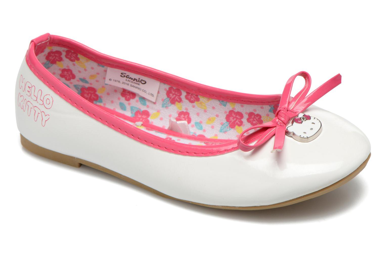 Ballerines Hello Kitty Hk Veale Ss El Blanc vue détail/paire