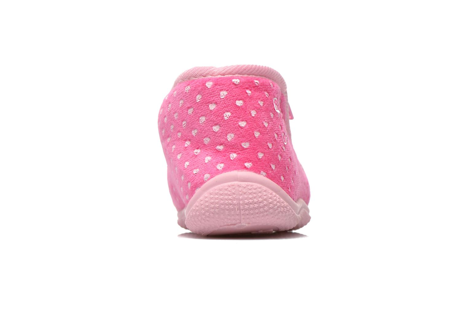 Chaussons Hello Kitty Hk Reste Rose vue droite