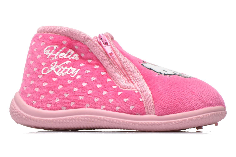 Hausschuhe Hello Kitty Hk Reste rosa ansicht von hinten