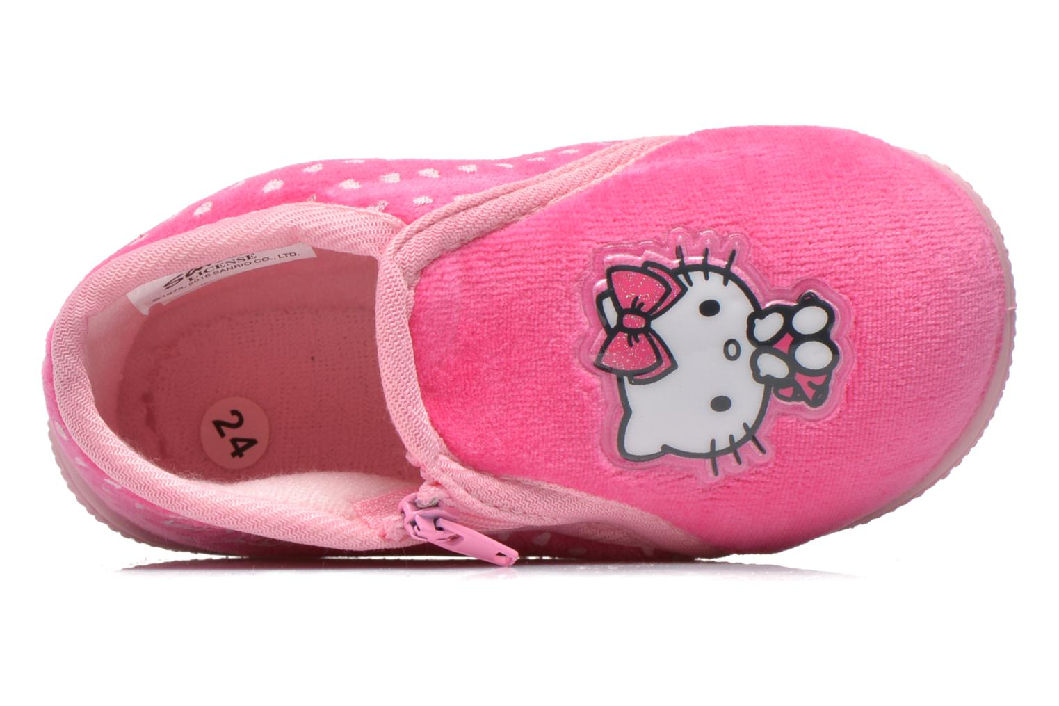 Pantoffels Hello Kitty Hk Reste Roze links