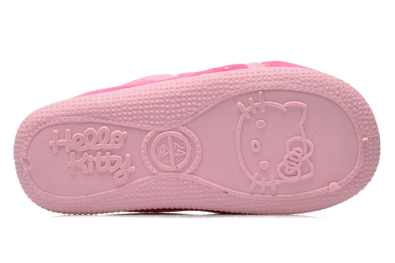 Chaussons Hello Kitty Hk Reste Rose vue haut