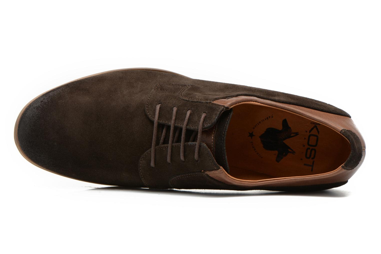 Chaussures à lacets Kost Epieu Marron vue gauche
