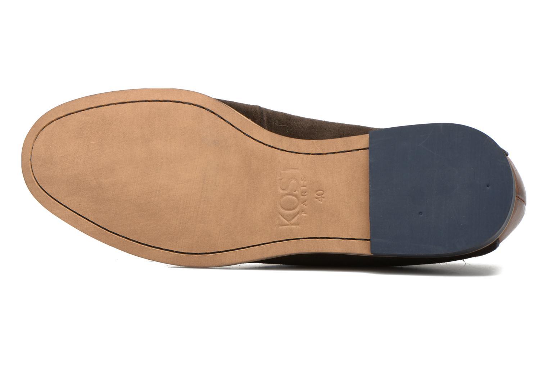 Chaussures à lacets Kost Epieu Marron vue haut