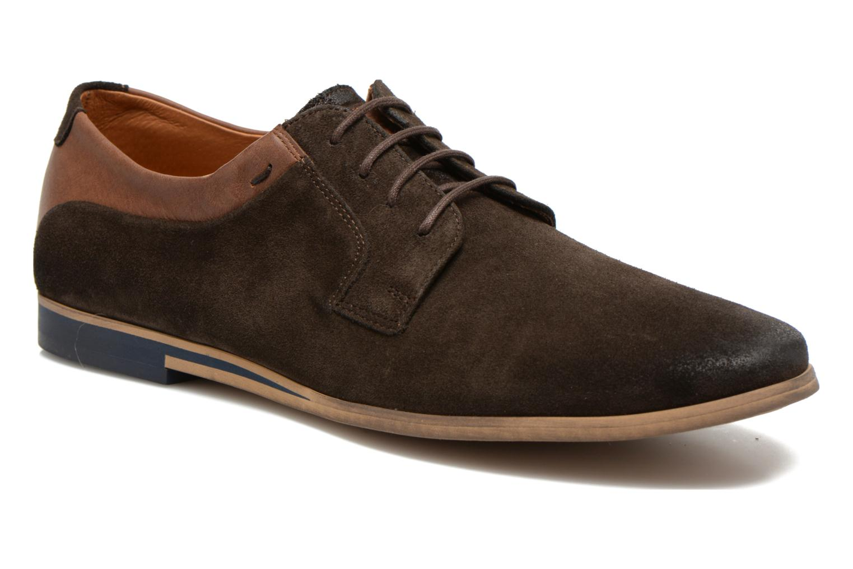 Chaussures à lacets Kost Epieu Marron vue détail/paire