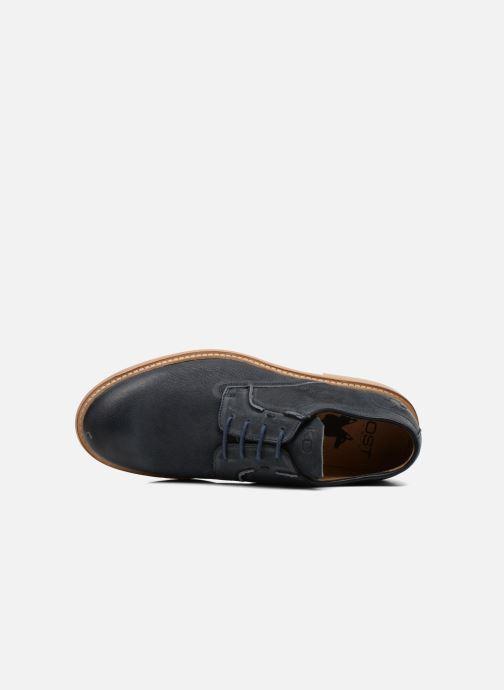 Zapatos con cordones Kost Mayall Azul vista lateral izquierda