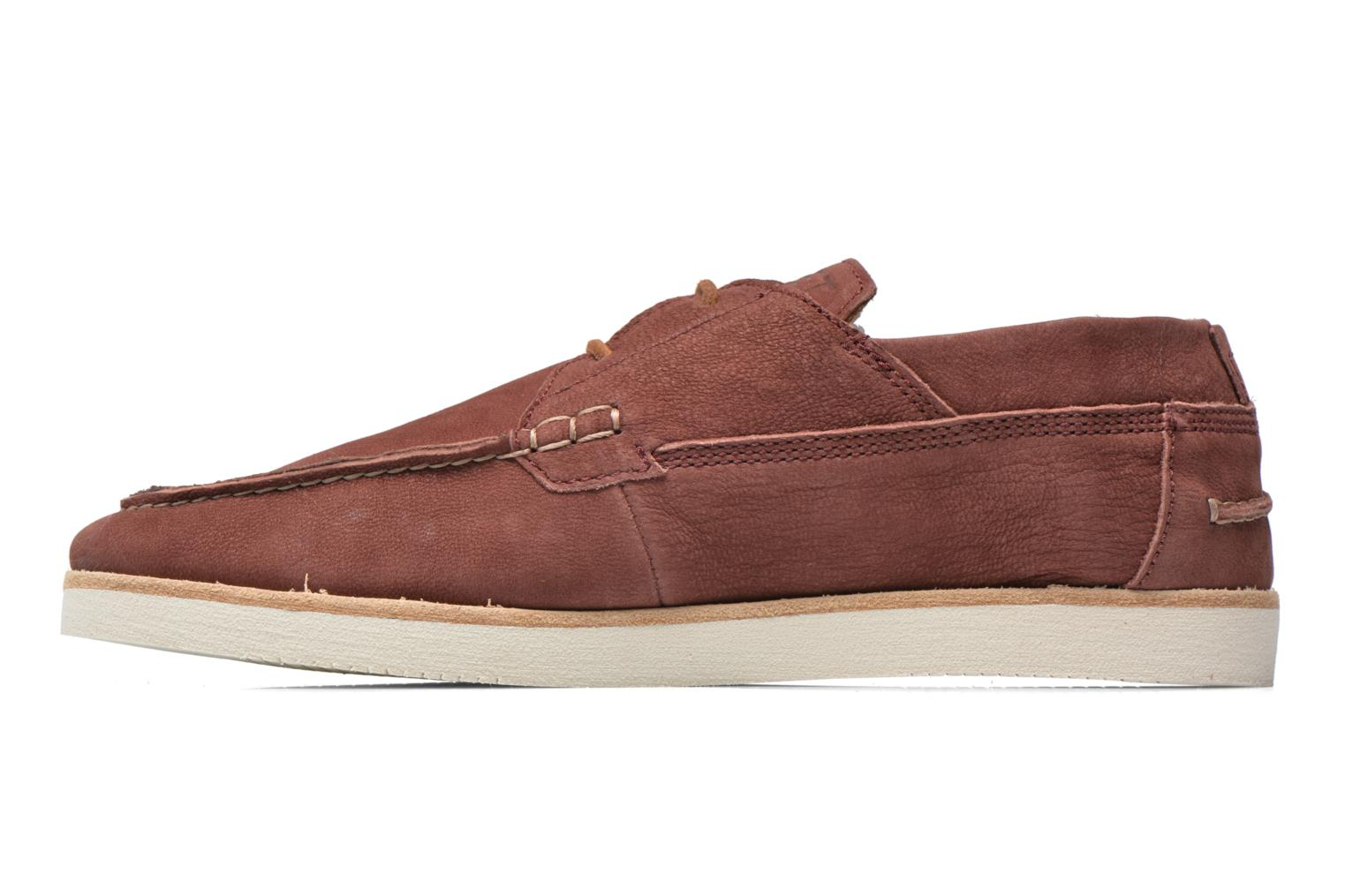 Lace-up shoes Kost Errol Burgundy front view
