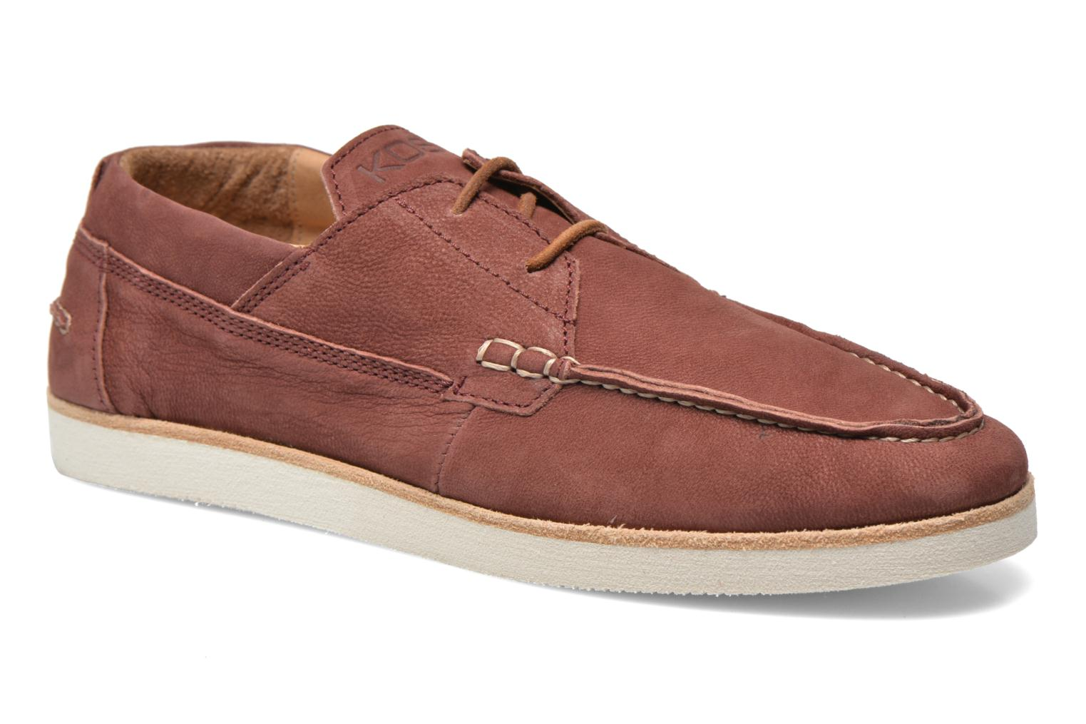 Lace-up shoes Kost Errol Burgundy detailed view/ Pair view