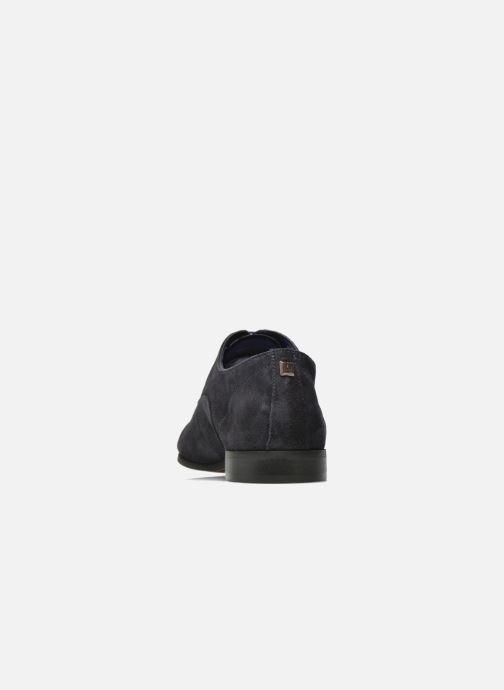 Chaussures à lacets Azzaro Xicola Bleu vue droite