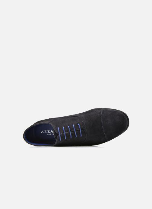 Zapatos con cordones Azzaro Xicola Azul vista lateral izquierda