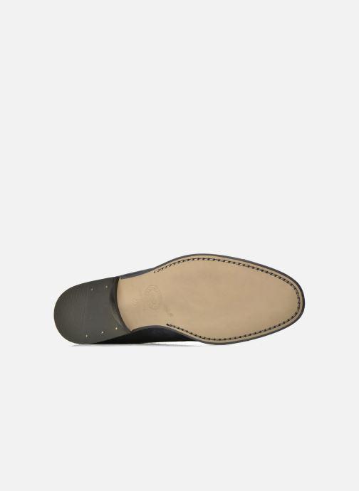 Chaussures à lacets Azzaro Xicola Bleu vue haut