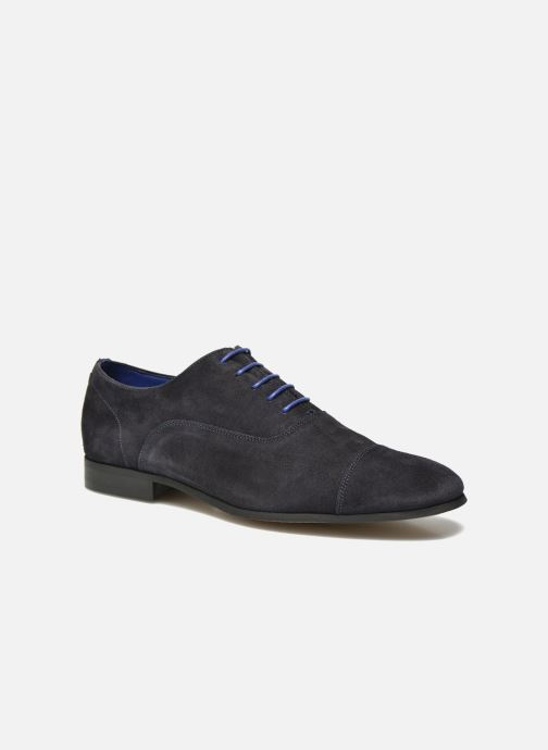 Chaussures à lacets Azzaro Xicola Bleu vue détail/paire