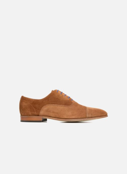 Zapatos con cordones Azzaro Xicola Marrón vistra trasera