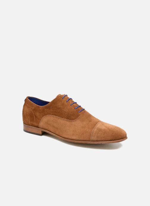 Chaussures à lacets Azzaro Xicola Marron vue détail/paire