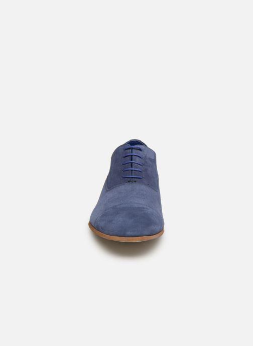 Zapatos con cordones Azzaro Xicola Azul vista del modelo