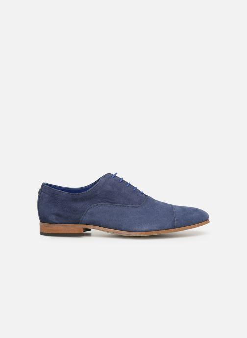 Zapatos con cordones Azzaro Xicola Azul vistra trasera