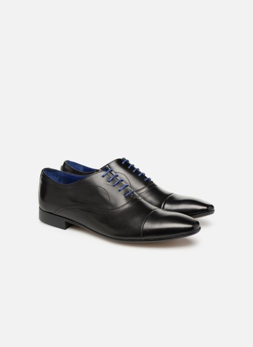 Lace-up shoes Azzaro Ansard Black 3/4 view