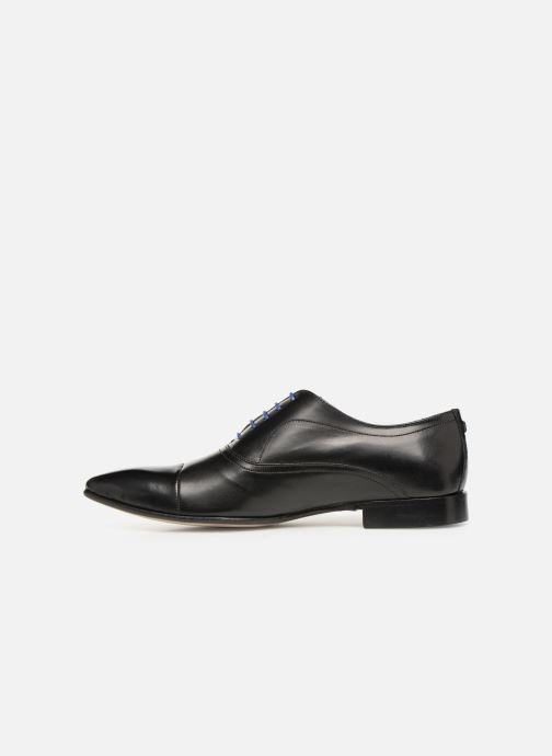 Lace-up shoes Azzaro Ansard Black front view