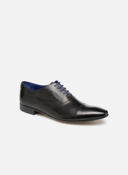 Snøresko Azzaro Ansard Sort detaljeret billede af skoene