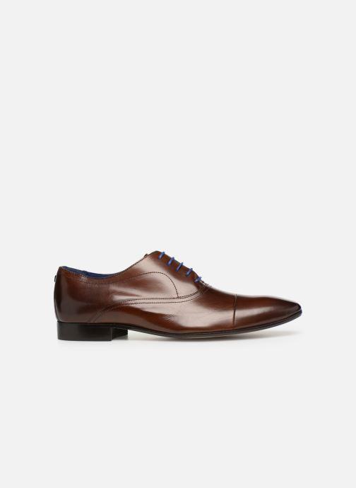 Chaussures à lacets Azzaro Ansard Marron vue derrière