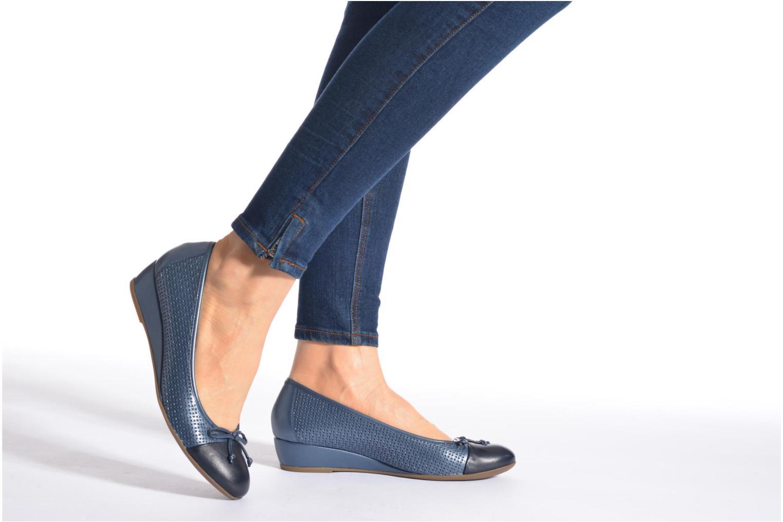 Zapatos de tacón Stonefly Maggie II 1 Azul vista de abajo