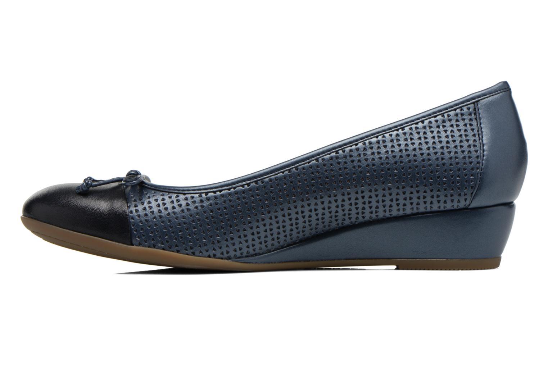 Zapatos de tacón Stonefly Maggie II 1 Azul vista de frente