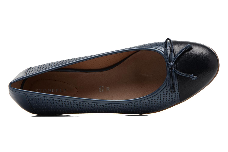 Zapatos de tacón Stonefly Maggie II 1 Azul vista lateral izquierda
