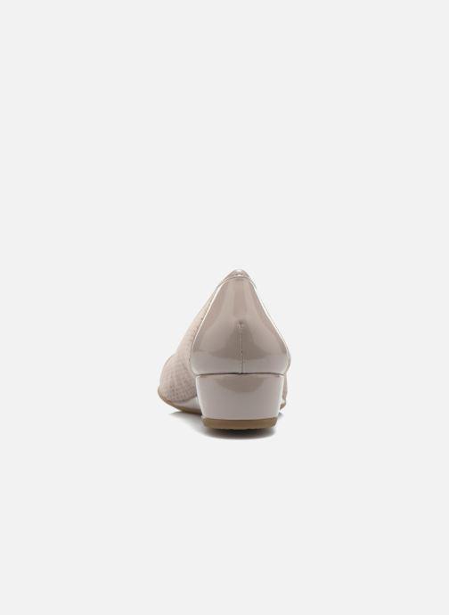 Zapatos de tacón Stonefly Maggie II 2 Beige vista lateral derecha