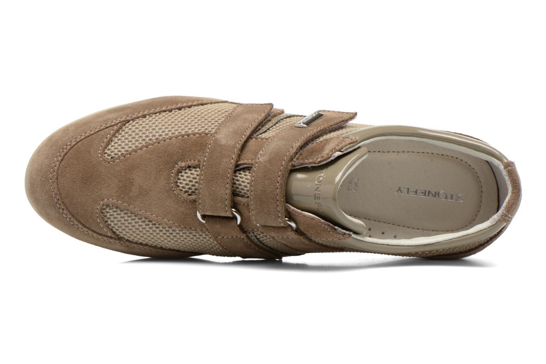 Sneaker Stonefly Venus II 60 beige ansicht von links