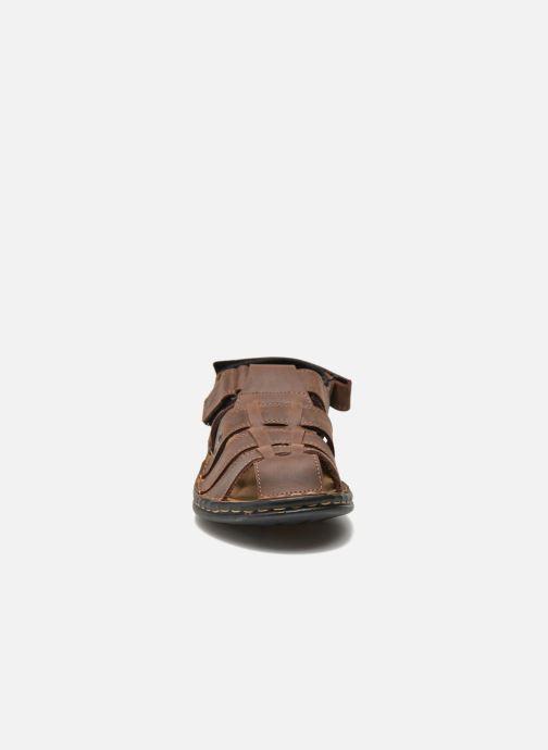 Sandales et nu-pieds TBS Easy Walk Barrow Marron vue portées chaussures