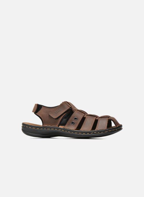 Sandales et nu-pieds TBS Easy Walk Barrow Marron vue derrière
