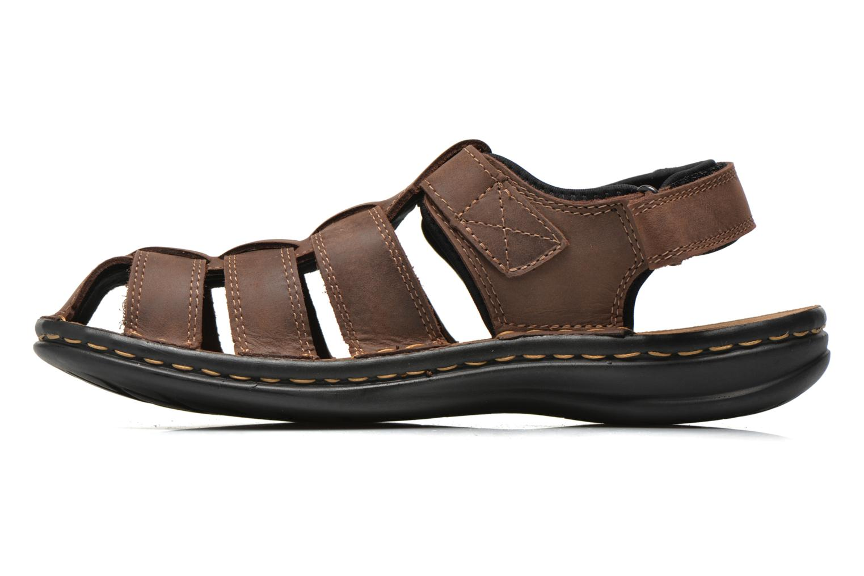 Sandales et nu-pieds TBS Easy Walk Barrow Marron vue face
