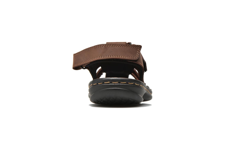 Sandales et nu-pieds TBS Easy Walk Barrow Marron vue droite