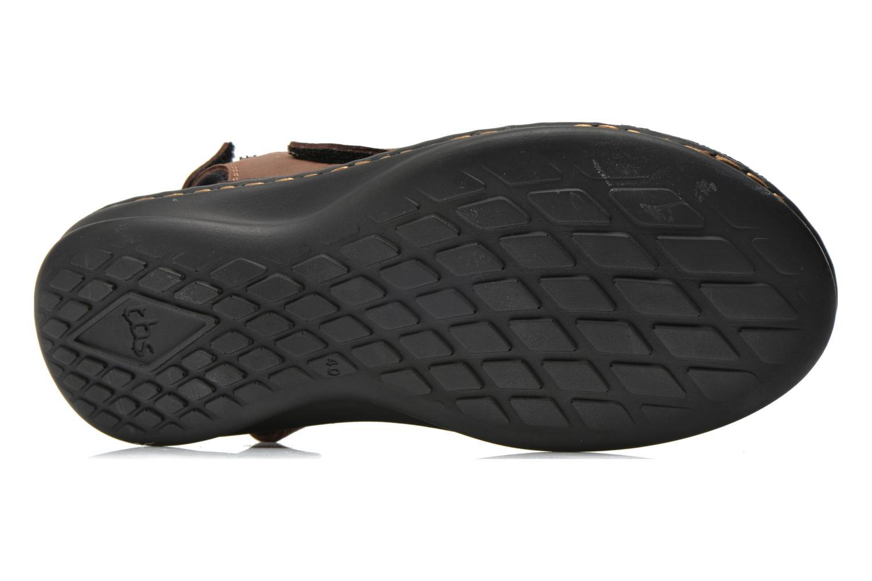 Sandales et nu-pieds TBS Easy Walk Barrow Marron vue haut