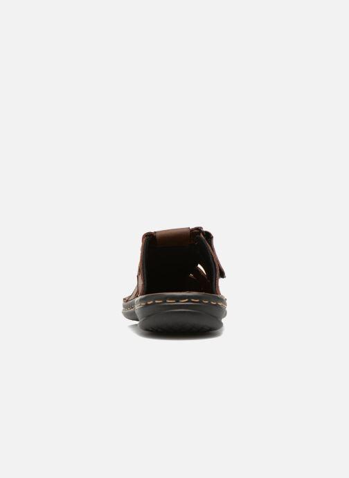 Sandales et nu-pieds TBS Easy Walk Bassoa Marron vue droite