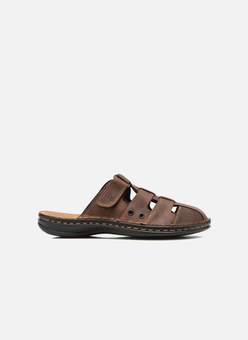 Sandales et nu-pieds TBS Easy Walk Bassoa Marron vue derrière
