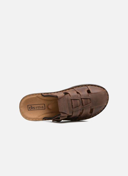 Sandales et nu-pieds TBS Easy Walk Bassoa Marron vue gauche