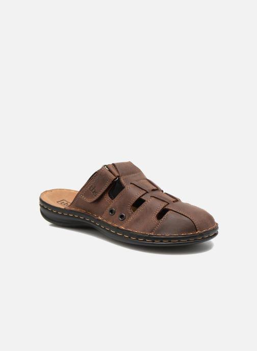 Sandales et nu-pieds TBS Easy Walk Bassoa Marron vue détail/paire