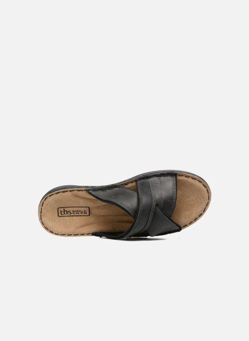 Sandali e scarpe aperte TBS Easy Walk Benaix EW Nero immagine sinistra