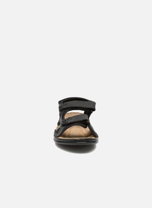 Sandales et nu-pieds TBS Easy Walk Berric Noir vue portées chaussures