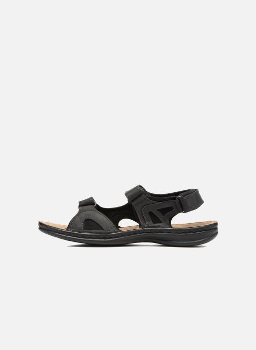 Sandales et nu-pieds TBS Easy Walk Berric Noir vue face